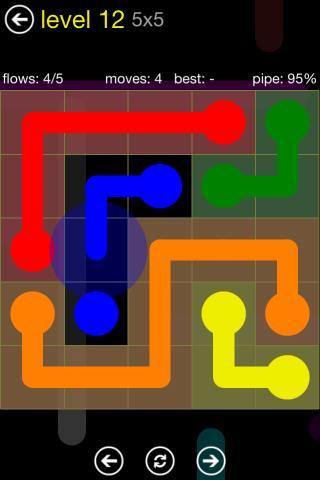 Logikspiele Flow für das Smartphone