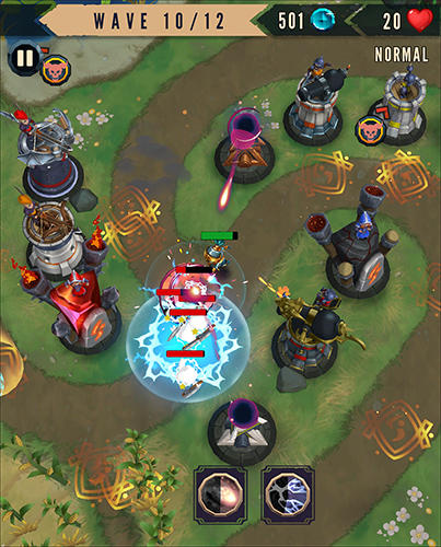 Heroes and havoc TD: Tower defense für Android