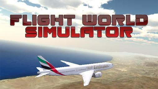 Flight world simulator capture d'écran 1