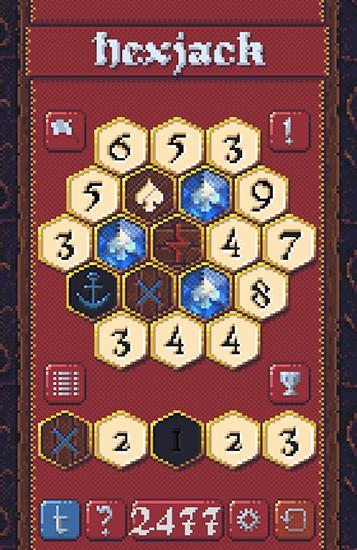 Pixelspiele Hexjack auf Deutsch