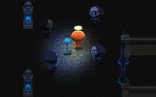 Arcade-Spiele Into the darkness für das Smartphone