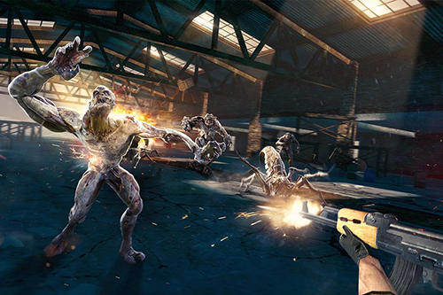 Zombie shooter Zombie: Beyond terror in English