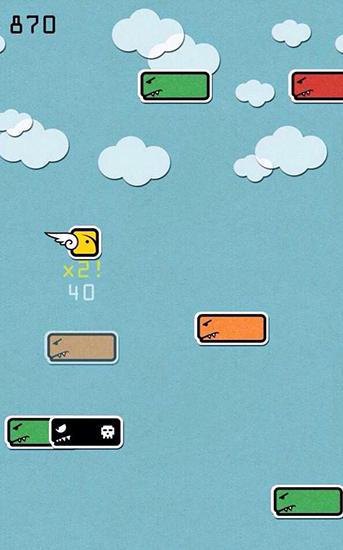 Arcade-Spiele Blockie für das Smartphone