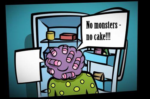 拱廊:下载Monster cake到您的手机