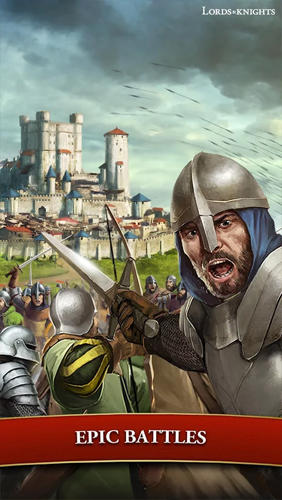 Online Strategiespiele Lords and knights: Strategy MMO auf Deutsch
