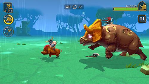 Spiele über Monster Monster chasers auf Deutsch