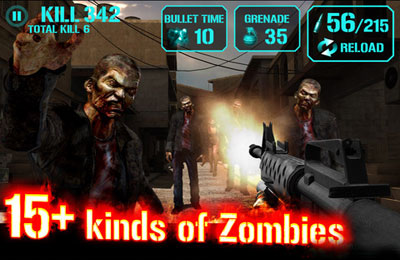 Gun Zombie : Hell Gate for iPhone