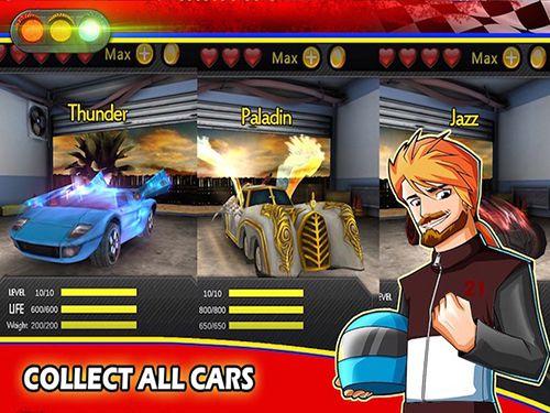 Compétitions cruciales d'auto