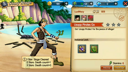 RPG Pirates of new world for smartphone
