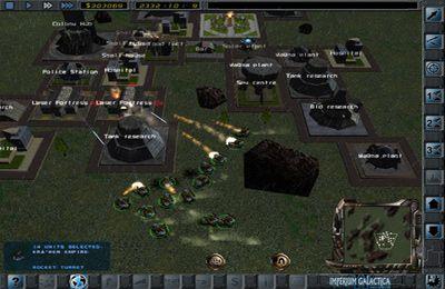 Strategiespiele: Lade Imperium Galactica 2 auf dein Handy herunter