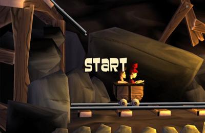 Arcade-Spiele: Lade Fahrt in der Mine: Missgeschick auf dein Handy herunter
