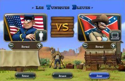 Strategie: Lade Die Blaujacken: Nord gegen Süd auf dein Handy herunter
