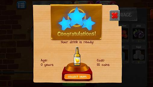 Arcade Alcohol factory simulator für das Smartphone