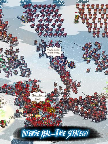 Echtzeit-Strategien Mini warriors: Three kingdoms auf Deutsch