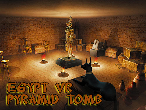 Egypt VR: Pyramid tomb adventure game скріншот 1