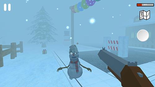 Evil snowmen для Android