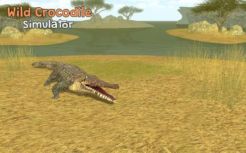 Скриншот Wild crocodile simulator 3D на андроид