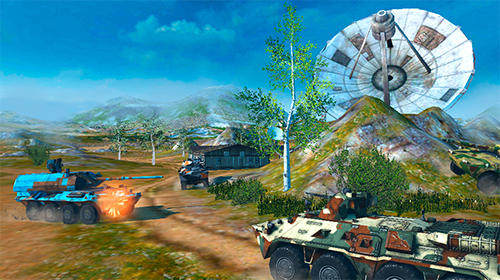 Metal force: War modern tanks für Android