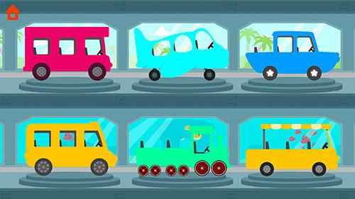 Arcade Dinosaur bus für das Smartphone