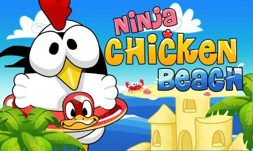 Ninja chicken: Beach Screenshot