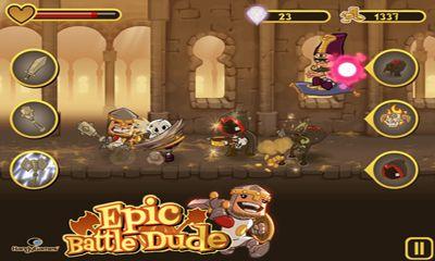 Prinzessinnen-Spiele Epic Battle Dude auf Deutsch