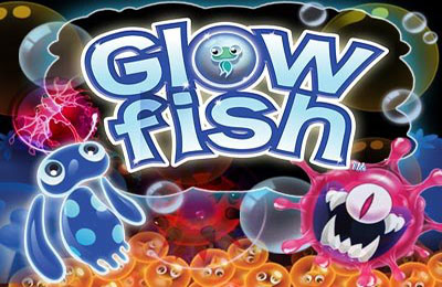 логотип Флуоресцирующие рыбки