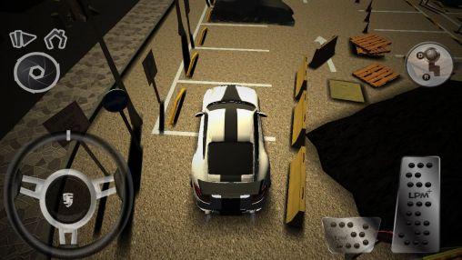 Simuladores de conducción Real car parking en español