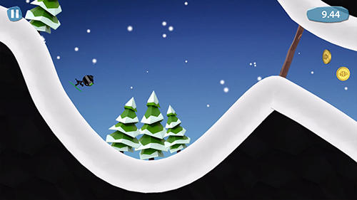 Stickman ski for iPhone