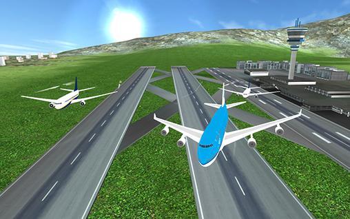 Voo de avião: Piloto para Android