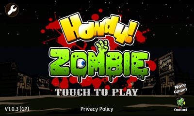 Howdy! Zombie screenshot 1