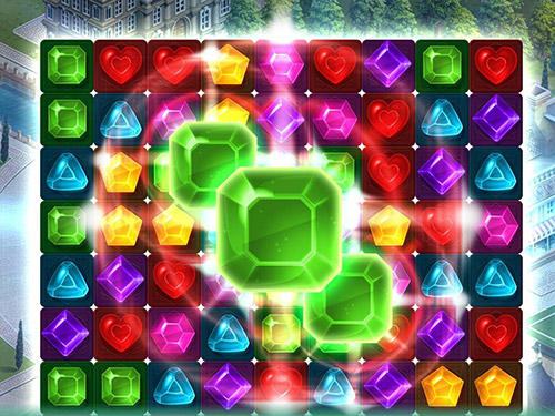 Три в ряд Diamonds time: Free match 3 games and puzzle game на русском языке
