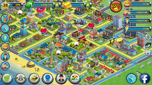 Tropic town: Island city bay para Android