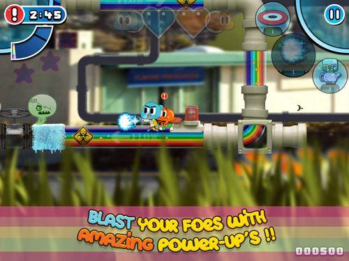 Gumball: Alboroto del arco iris para iPhone gratis