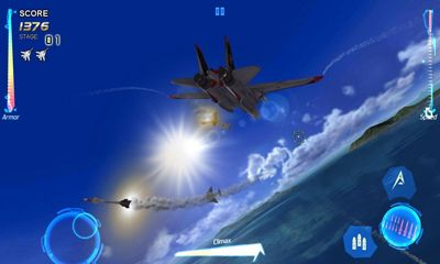 Flugsimulatoren After burner climax auf Deutsch