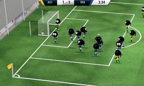 Arcade Stickman soccer 2016 für das Smartphone