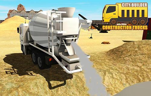 City builder: Construction trucks sim Symbol