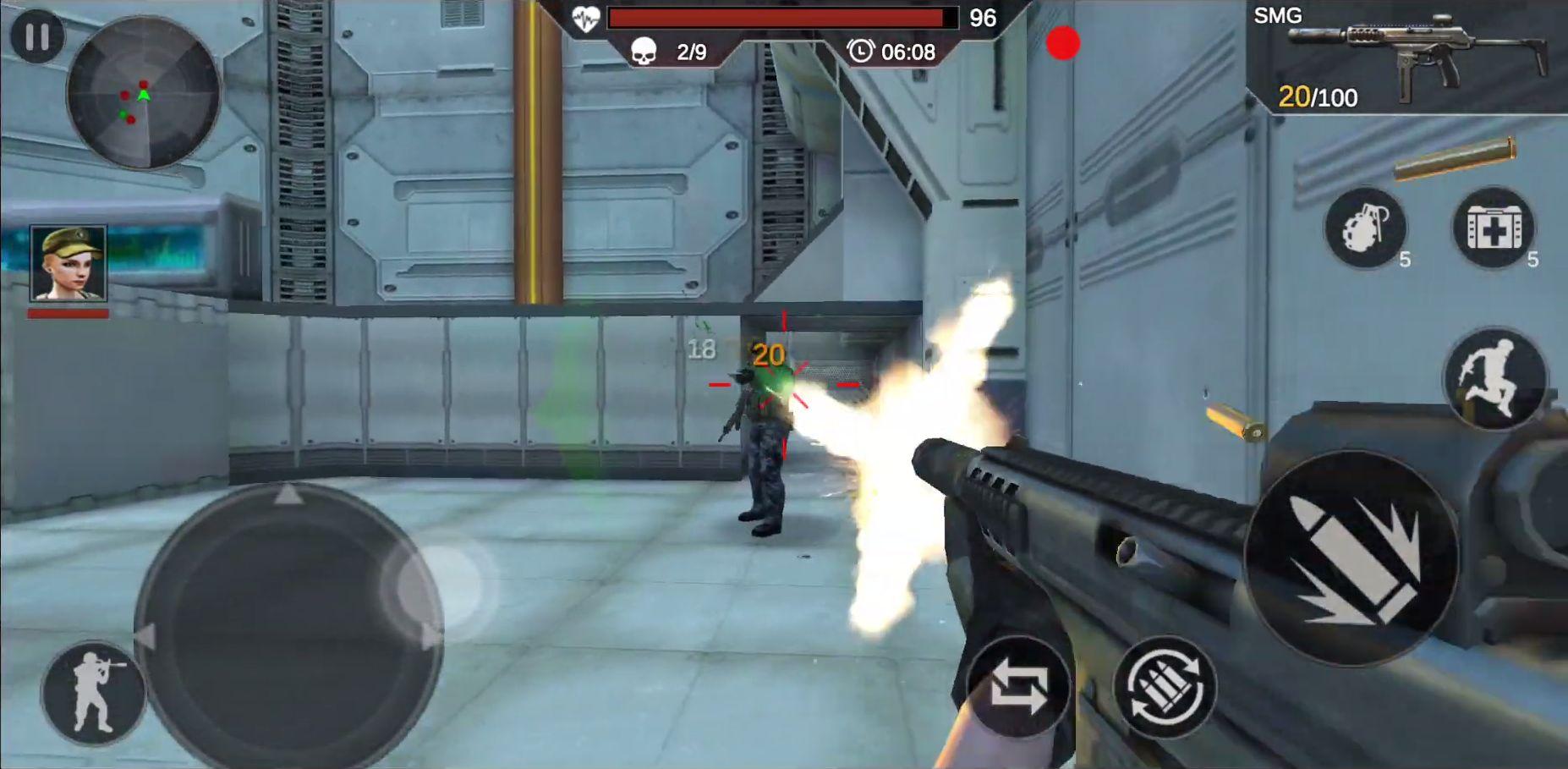 Cover Strike - 3D Team Shooter captura de tela 1