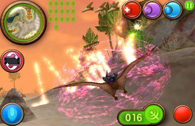 Screenshot Nanosaur 2 auf dem iPhone