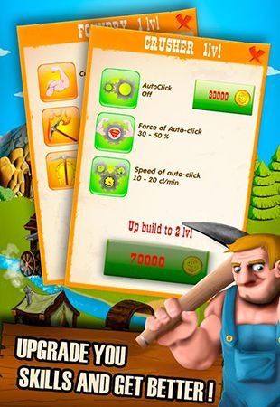 Arcade Money mine: Wild wild clicker für das Smartphone