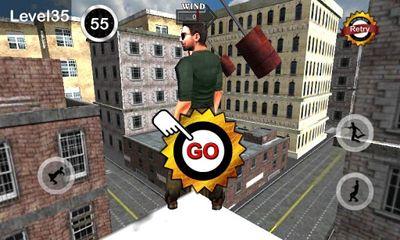 d'arcade TightRope Walker 3D pour smartphone