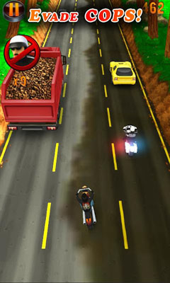 Arcade games: download Deadly Moto Racing to your phone