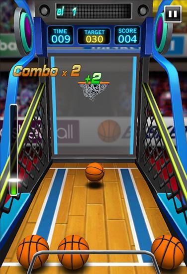 Arcade Crazy basketball für das Smartphone