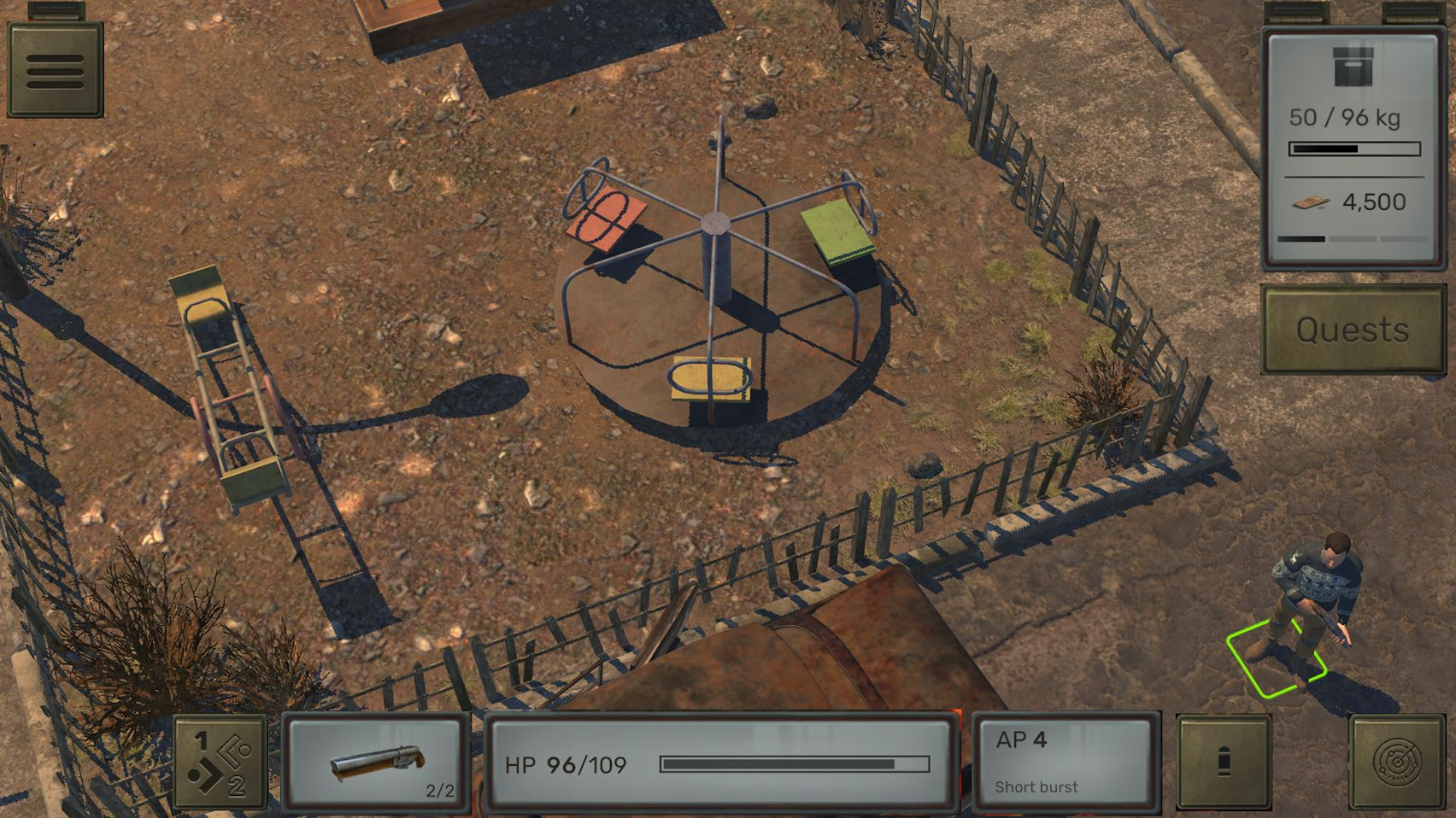 ATOM RPG screenshot 1