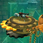 Iron ant: An ant surviving against death icon