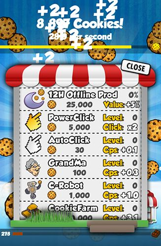 Cookie clickers auf Deutsch