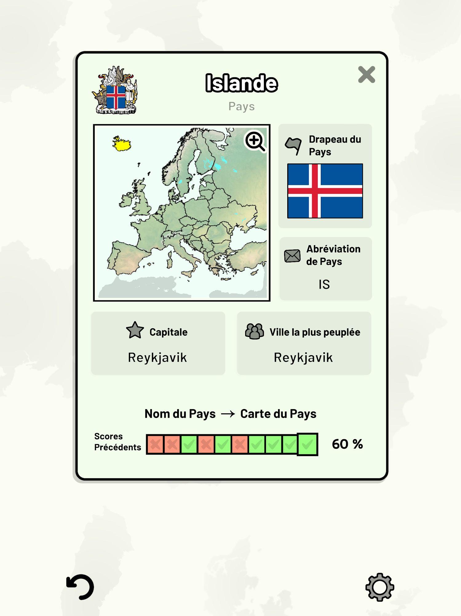 Countries of Europe Quiz - Maps, Capitals, Flags capture d'écran 1