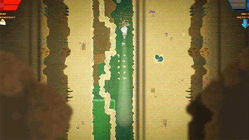 Screenshot Planetentaucher auf dem iPhone