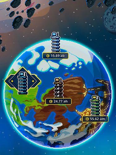 Arcade: Lade Leerlauf Weltraum-Magnat auf dein Handy herunter