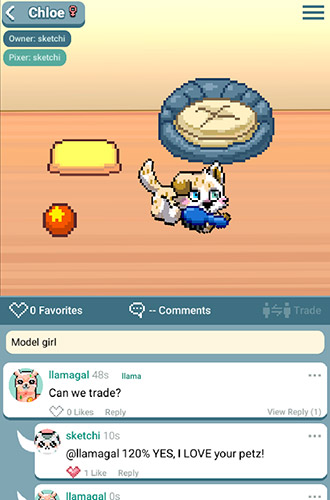 Pixel petz screenshot 1
