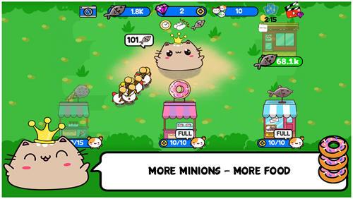 Princess cat Nom Nom for Android